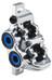 Magura MT Trail Carbon Bremszange für 4 Kolben mit Bremsbelägen Vorderrad